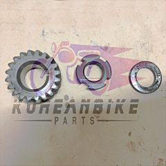 Genuine Crank Shaft Primary Drive Gear Set Used Daelim VL 125