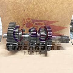 GENUINE TRANSMISSION COUNTER SHAFT OUTPUT GEARS AXLE USED DAELIM VL125 Daystar