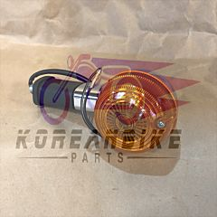 Aftermarket Front Turn Signal Amber Lens 2 wires Hyosung GA125