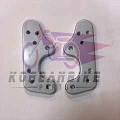 Genuine Front Footrest Mount Plate Bracket Set GT250R GT650R