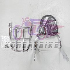 Genuine Backrest & Luggage Carrier Rack Hyosung GV650 Aquila