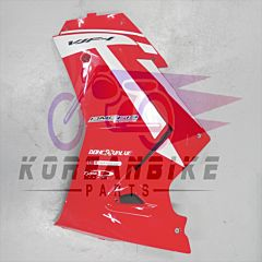 Genuine Lower Left Fairing Cowl Red Newer Daelim VJF 125