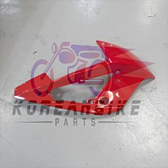 Red Right Upper Cowling Fairing Hyosung GT250RC GT650RC 2013