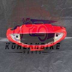 Genuine Front Cover Handlebar Red Hyosung SB50
