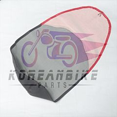 Black and Red Seat Cover Replacement Daelim SJ50