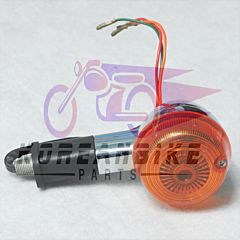 Aftermarket Front Turn Signal Amber Lens 3 wires Hyosung GA125