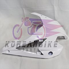 Genuine White Right Upper Cowling Fairing Used Hyosung GT250R GT650R