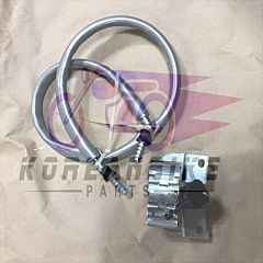 FRONT FORK LOCK CABLE-TYPE ANTI-THEFT LOCK HYOSUNG GV125 GV250 AQUILA