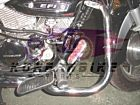Aftermarket Engine Guard Kit For Single Exhaust Muffler Hyosung GV125 GV250